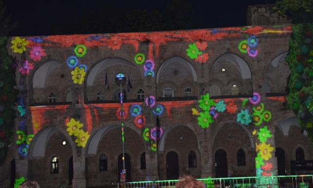 Jerusalem light image