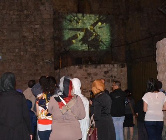 image Palestinian women