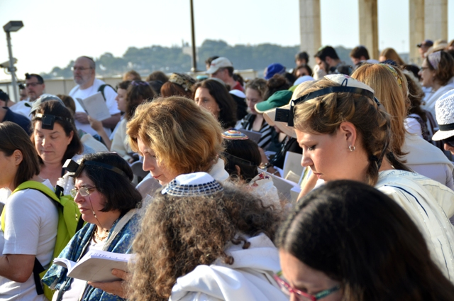 image Women of Wall , picture Rosh Chodesh Av at Kosel