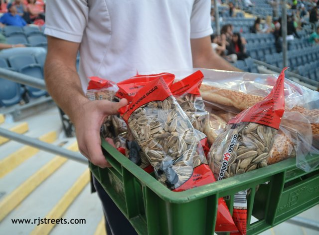 image selling seeds at Stadium