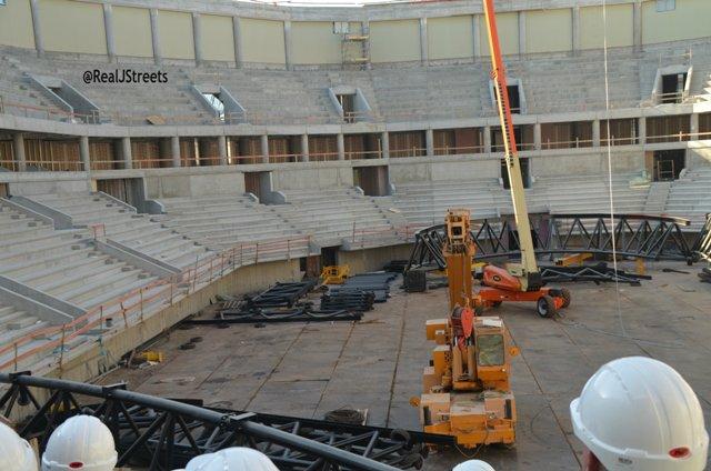 Jerusalem sports arena