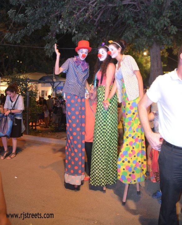 photo three clowns, image clowns