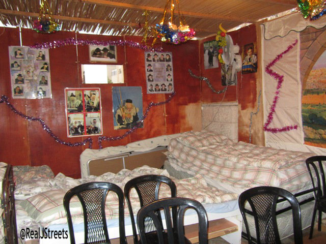 iamge large sukkah, sukka to sleep in