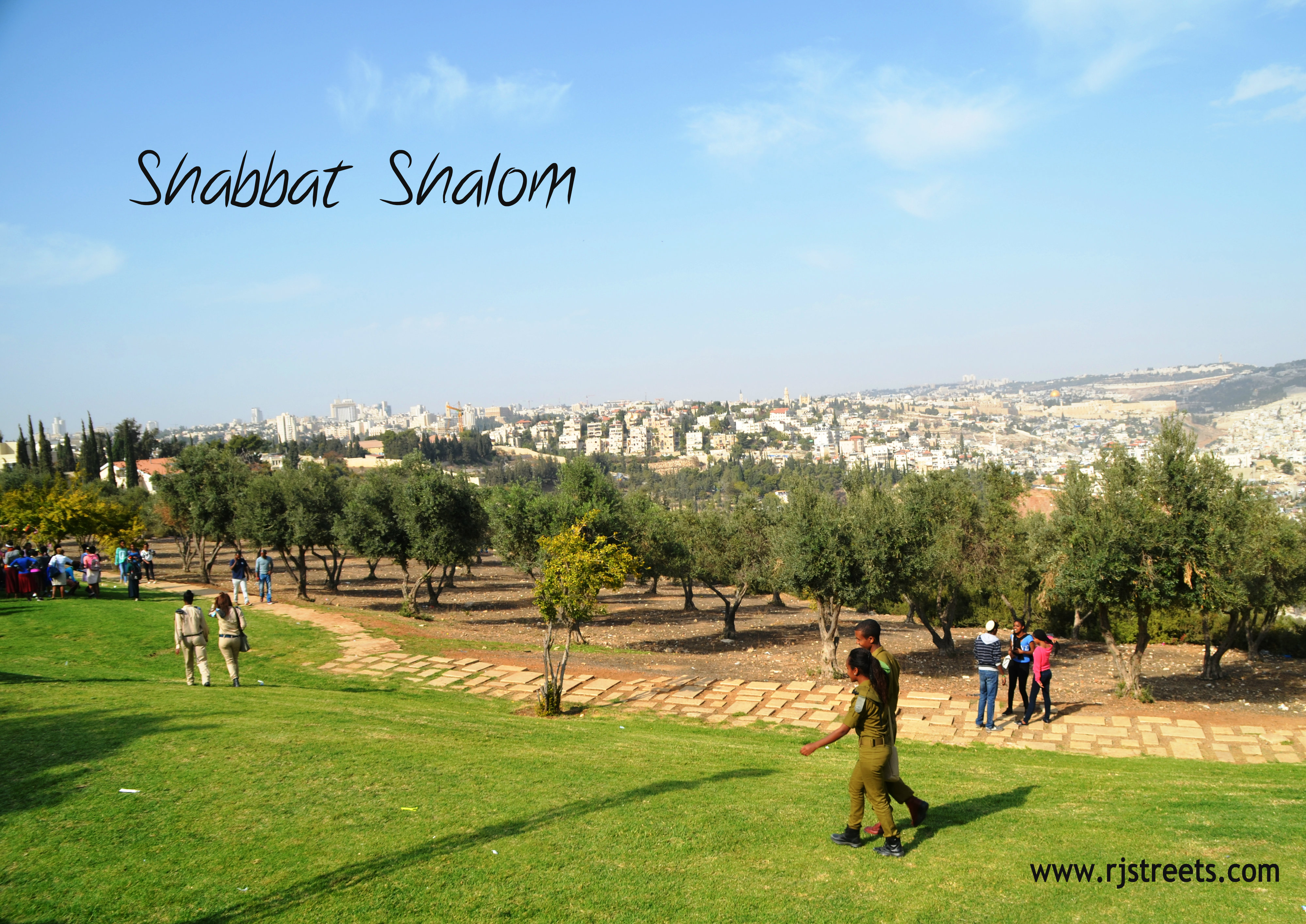 Jerusalem view photo, scene from Tayelet, picture Sigd