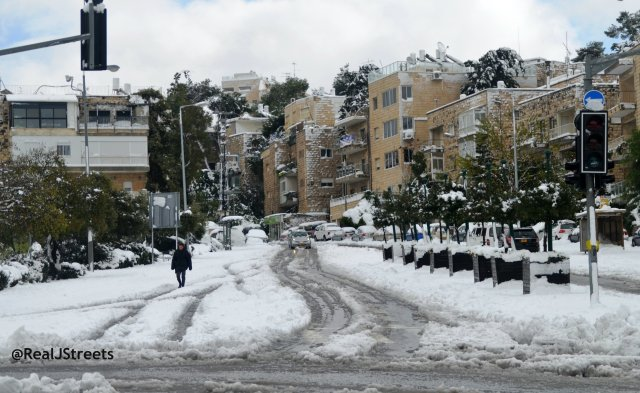 image snow Jerusalem, picture jerusalem snow