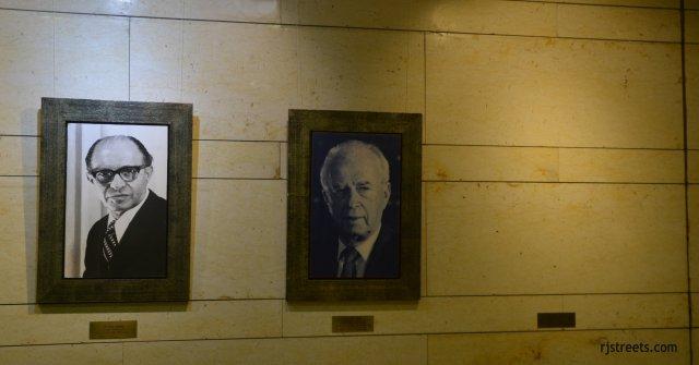 iamge Israeli prime ministers., picture Rabin , Begin