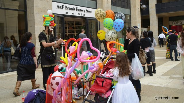 image balloons, photo Purim, picture PUrim