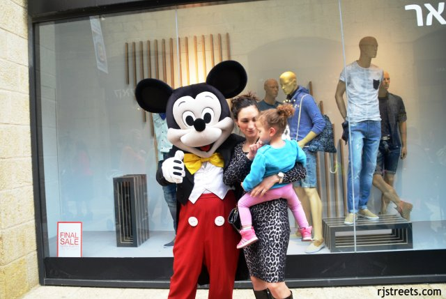 image PUrim, Mickey mouse costume