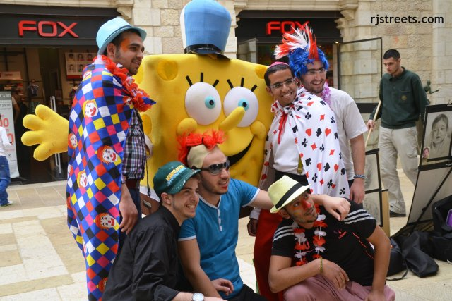 image PUrim, photo sponge bob, picture purim fun