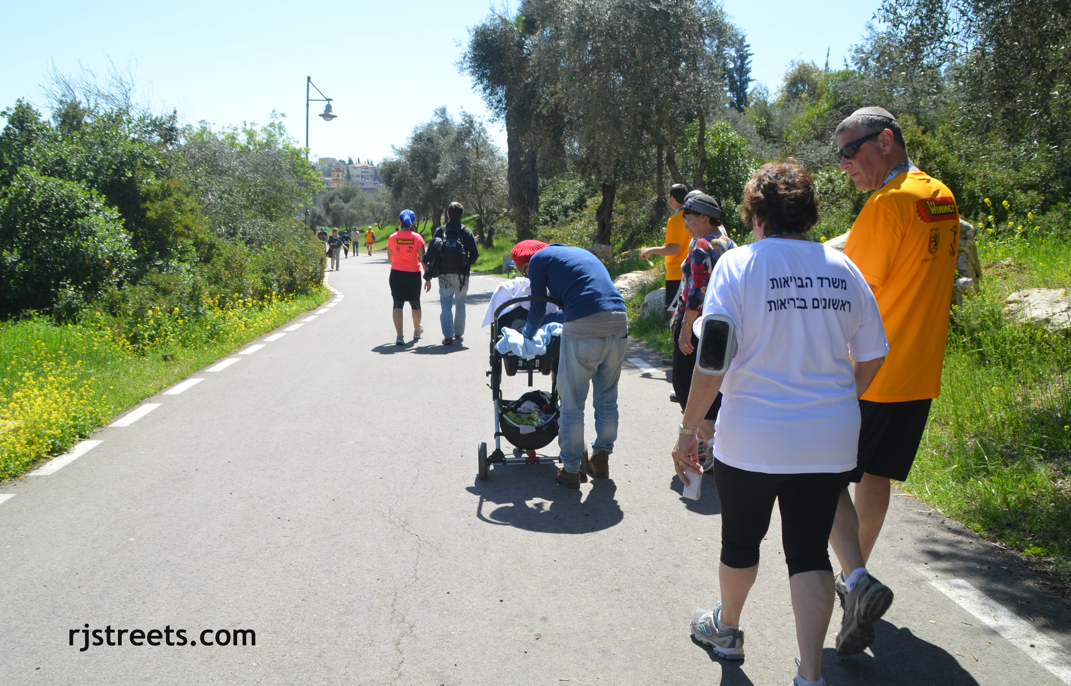 iamge Jerusalem marathon, photo RavBeni Lau, picture Jerusalem maraton