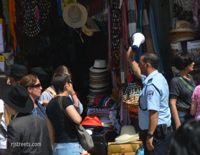 image police Jerusalem, photo Israel crowd control, picture Old City security