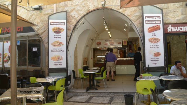 image bagel closed, photo Passover Old City, picture Jerusalem