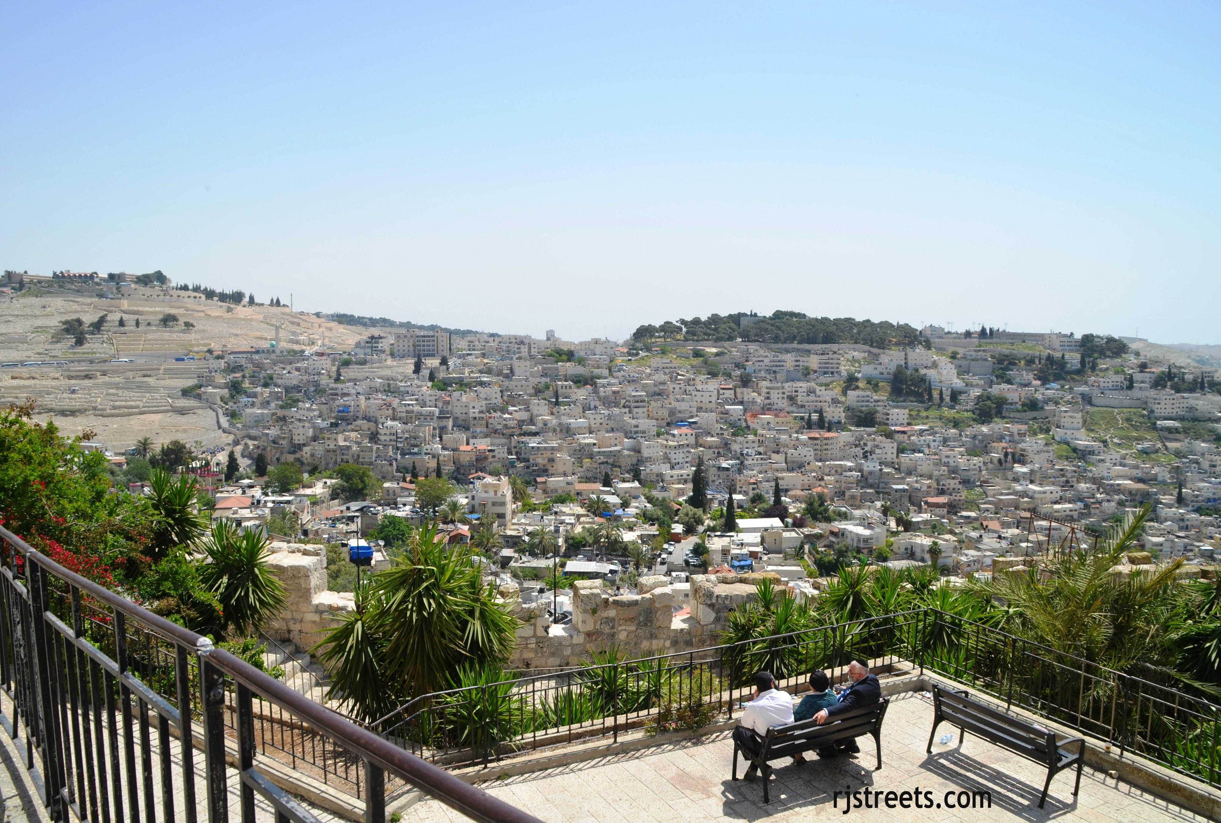 image Silwan, view Jerusalem,