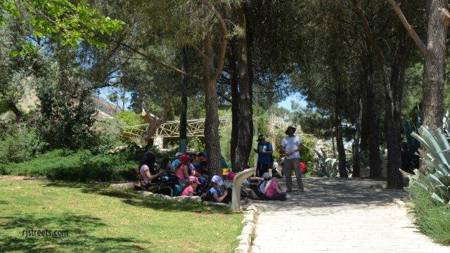 image school trip. photo trip to Jerusalem