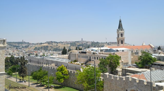 image view Jerusalem, Israel
