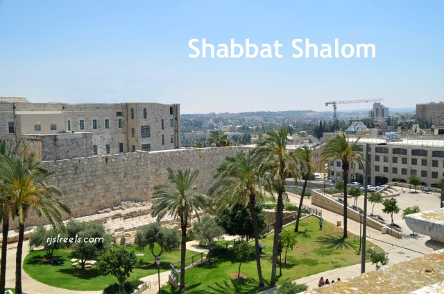 image Shabbat shalom, photo Old City, picture different view Jerusalem