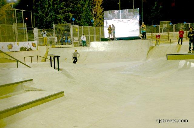 image new skate park, photo large skate board rink,  jJrusalem skate park