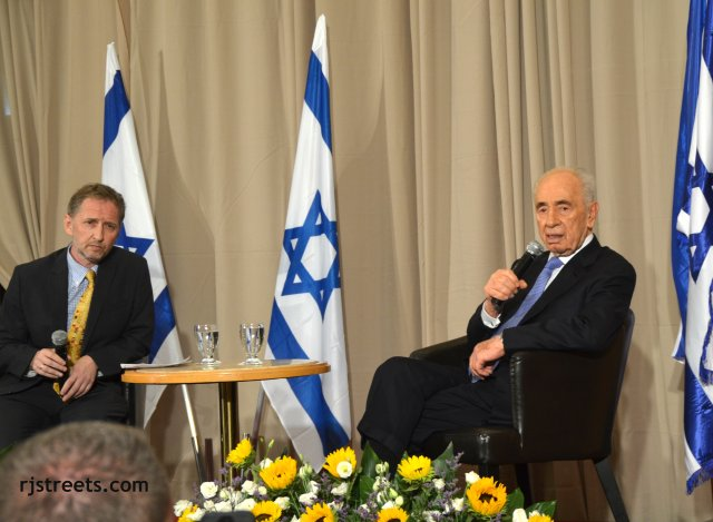 image Shimon Peres, photo Daivd Horowitz