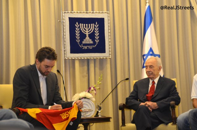 image Pau Gasol, photo Shimon Peres
