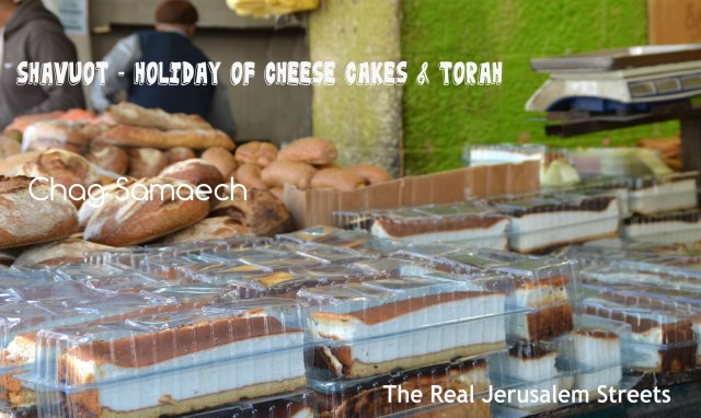 image Shavuos, photo cheese cakes. picture for Jewish holiday