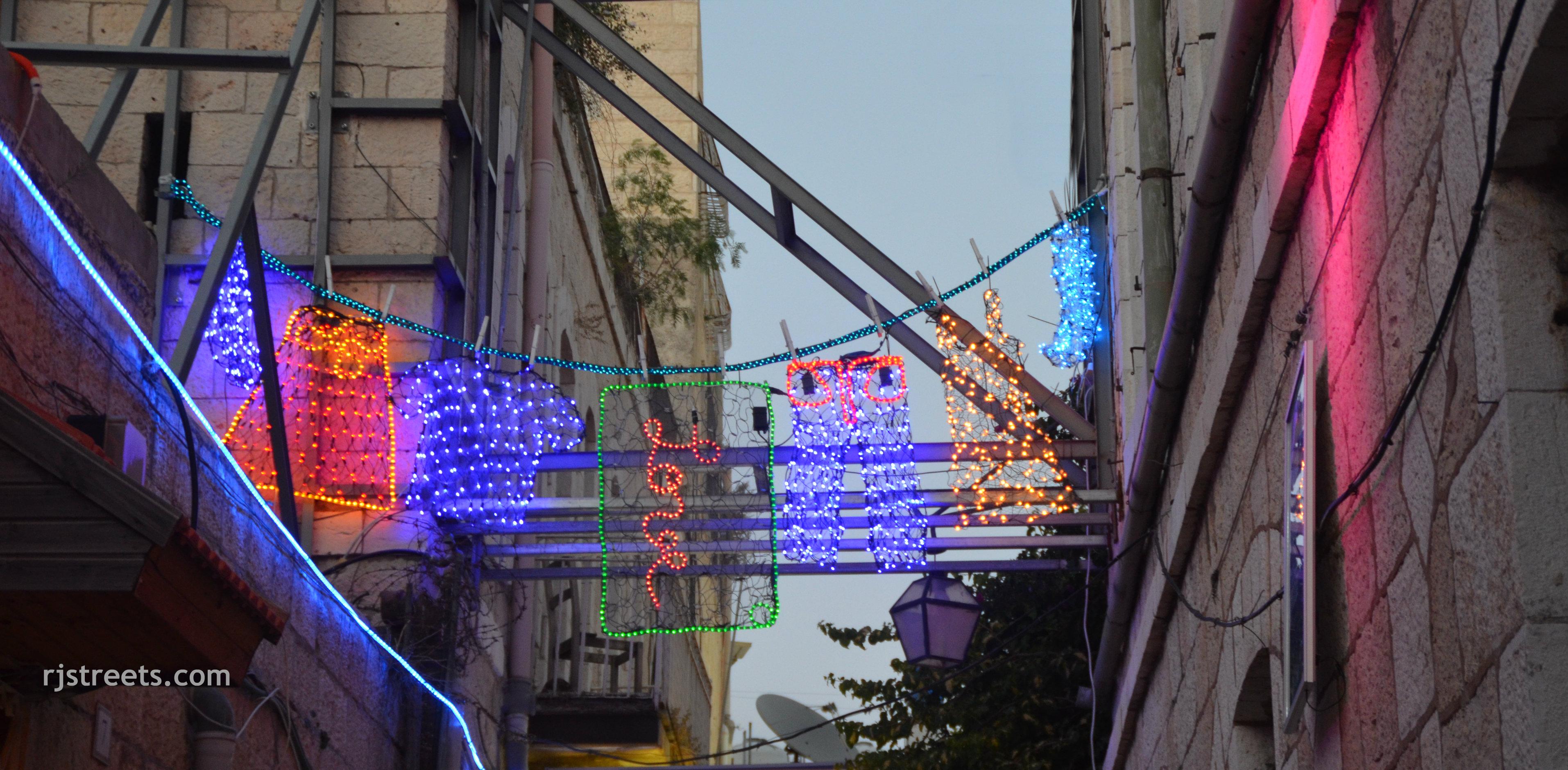 image Jerusalem Light festival 2014