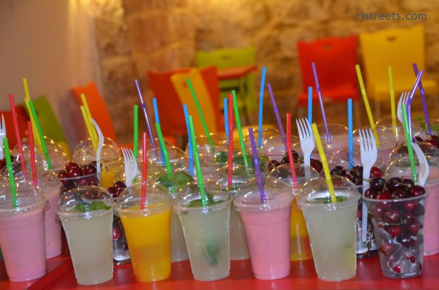 imsge colorful drinks