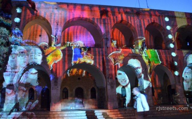 iamge Jerusalem light festival
