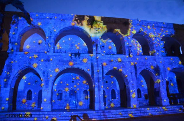 iamge Jerusalem light festival