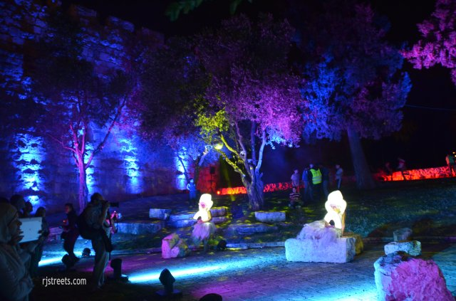 image Old City Jerusalem light festival