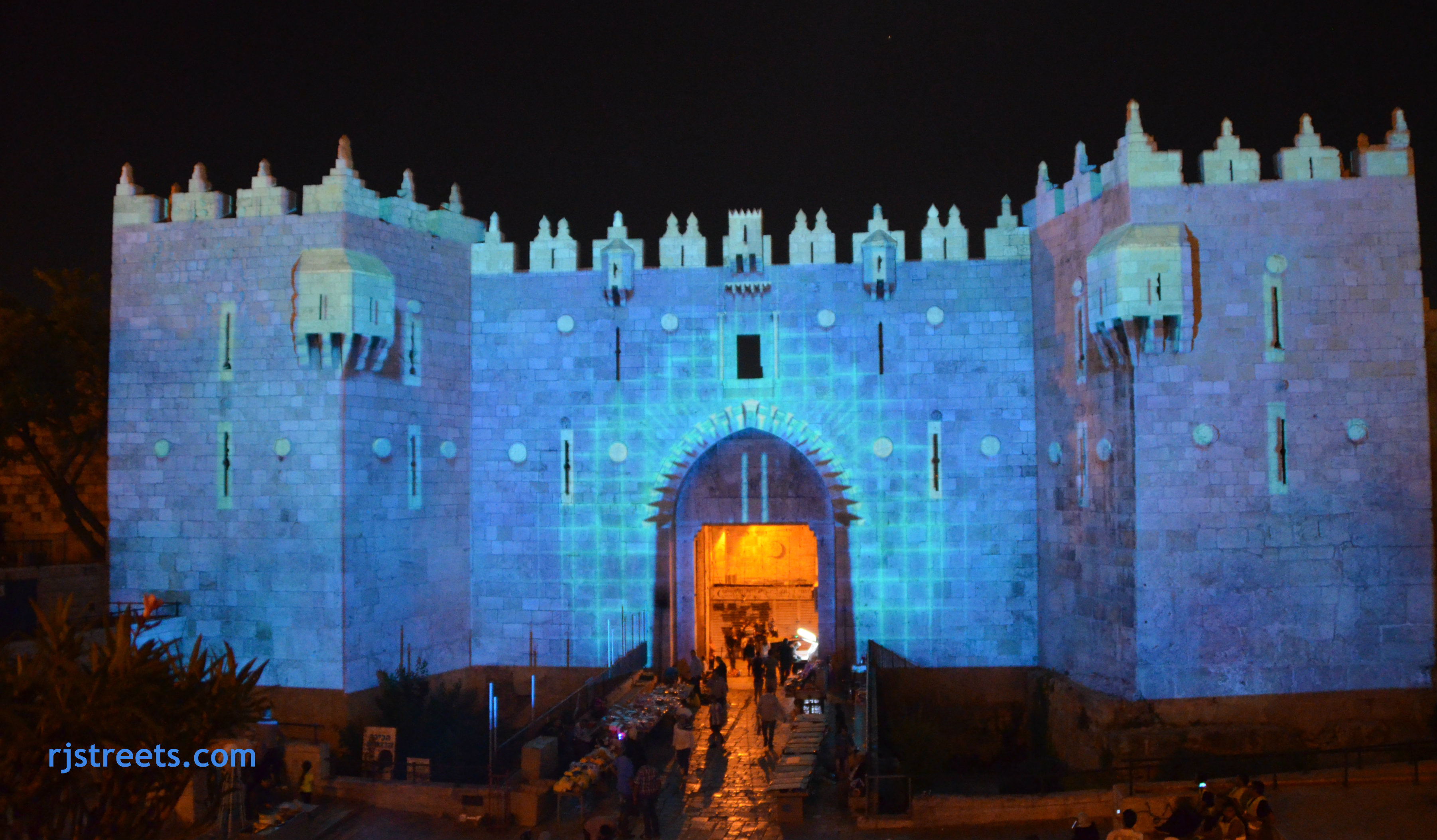 picture Jerusalem light festival