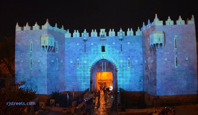 picture Jerusalem light festival