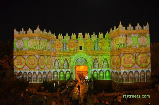 picutre Jerusalem light fstival