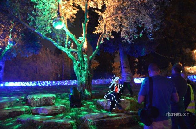 photo Jerusalem light festival