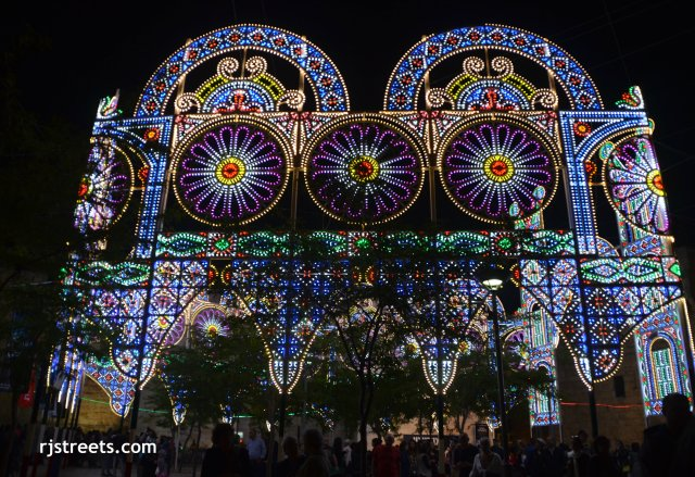 photo Jerusalem light festival