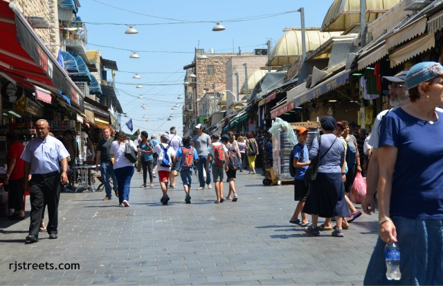 image shuk Jerusalem,Israel