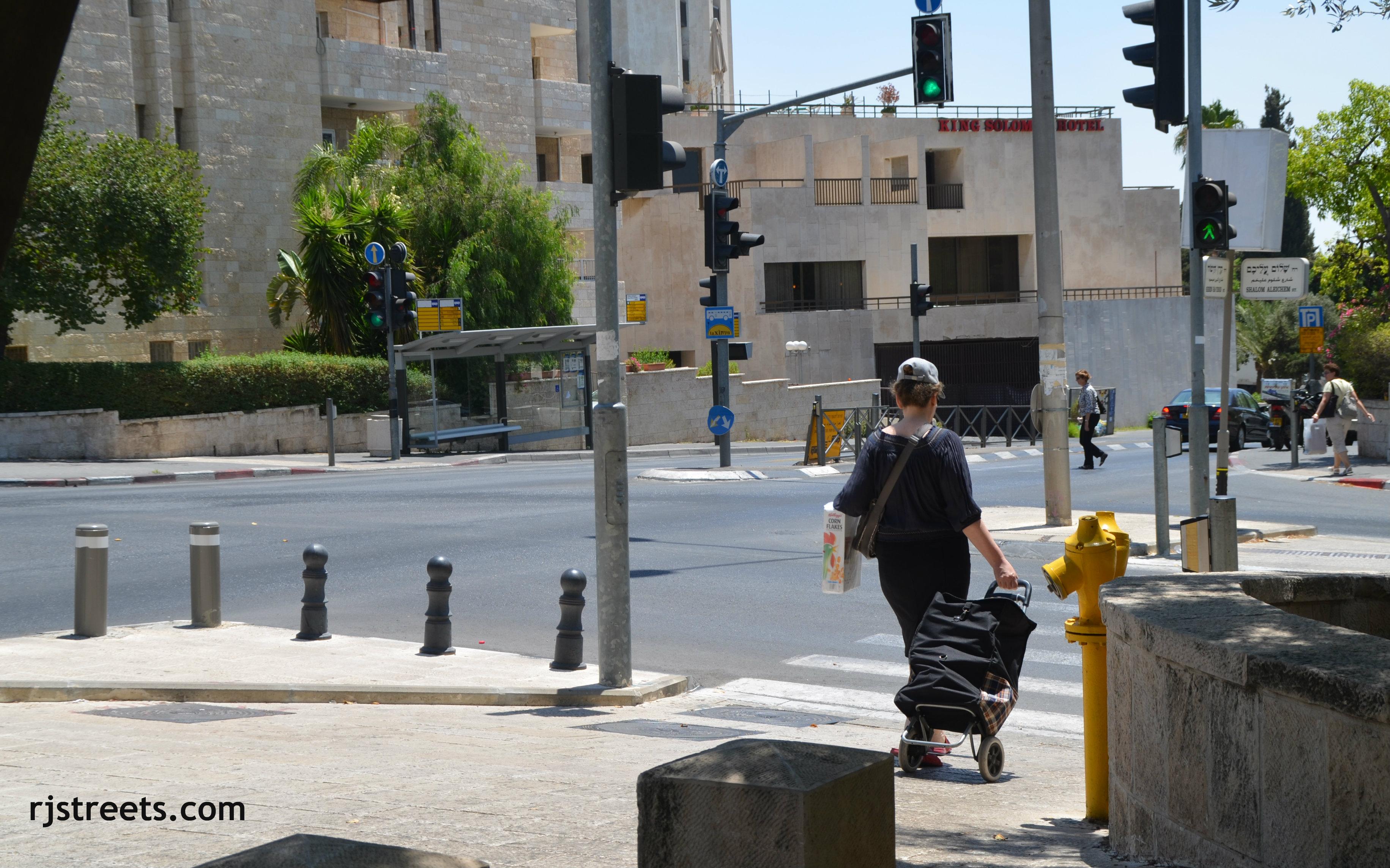 image Jerusalem Street scene