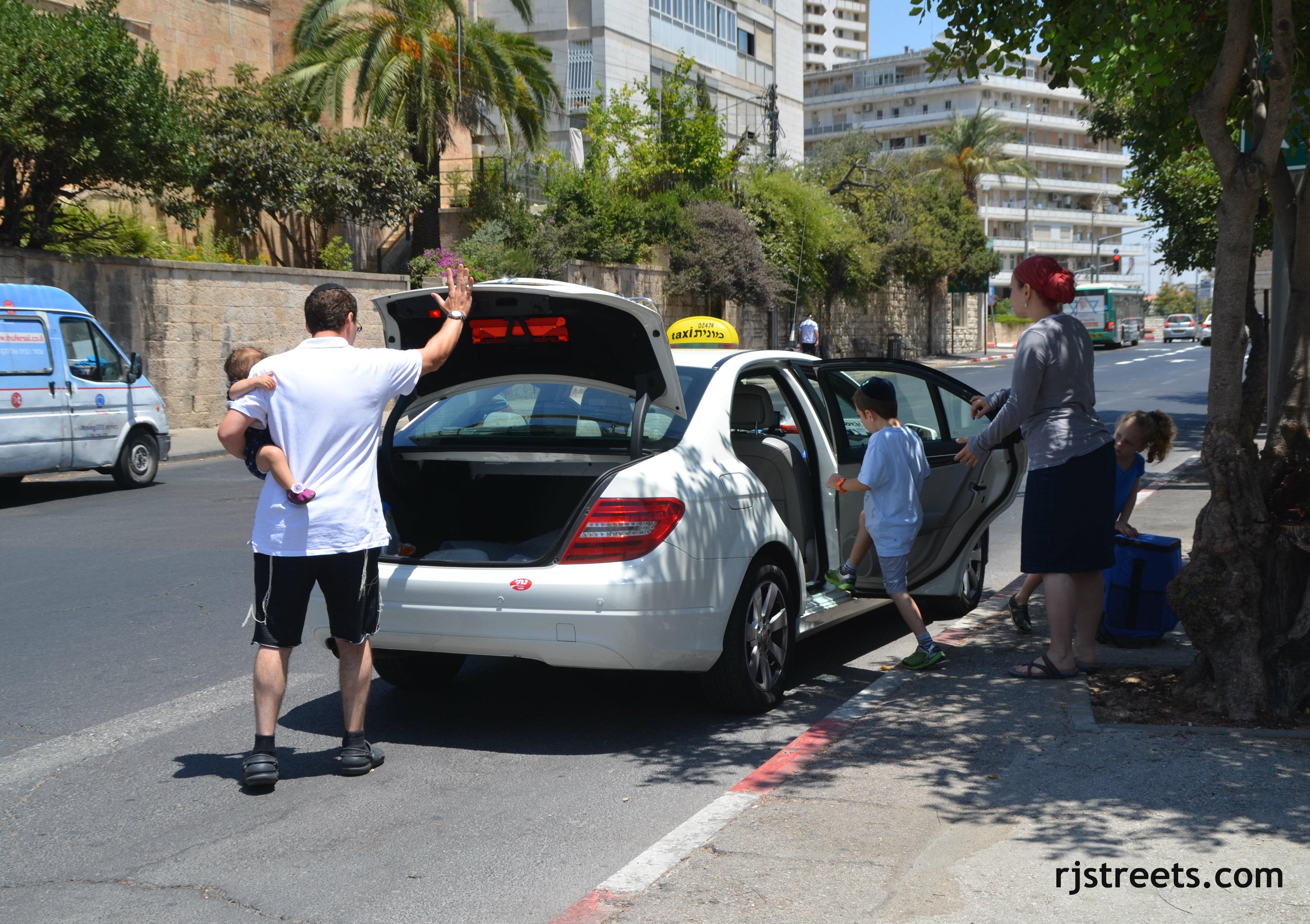 image Jerusalem, Israel taxi