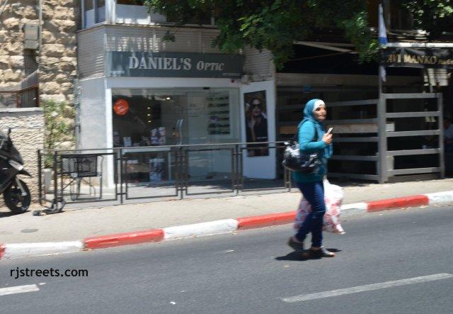 Arab woman Jerusalem,