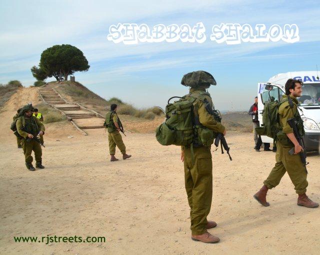image Shabat shalom army