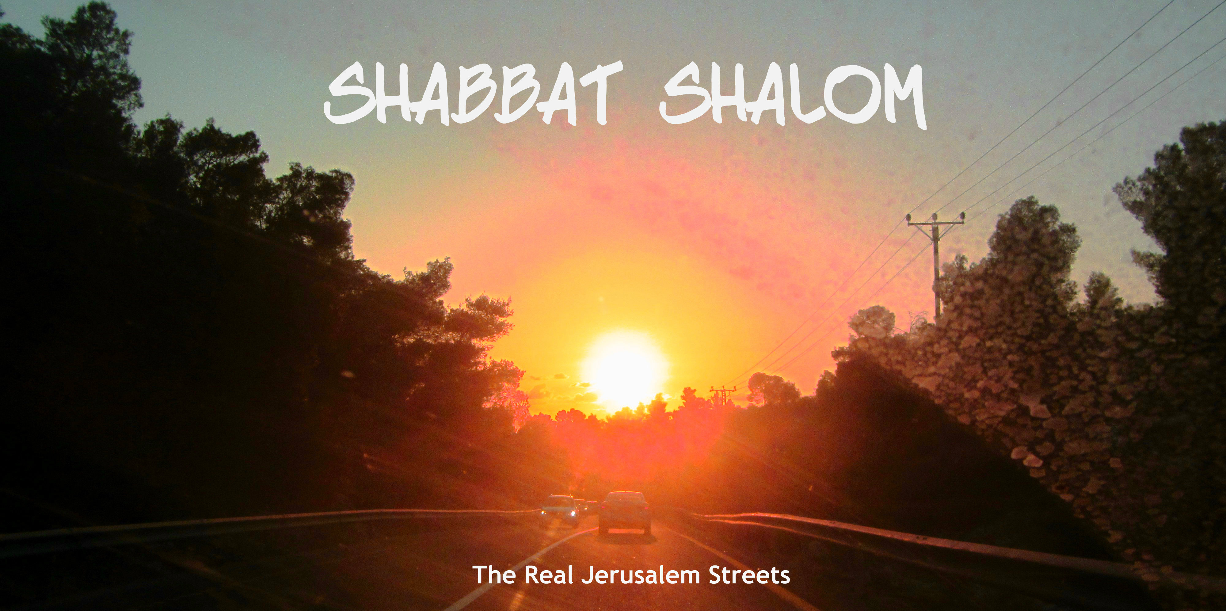 image edited Shabbat shalom poster