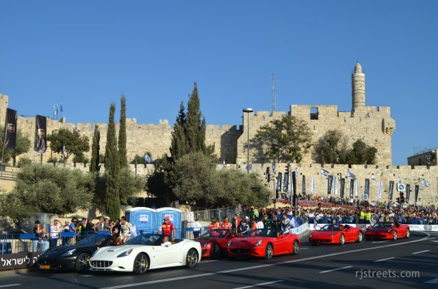 image Tower of David at start of Road Show