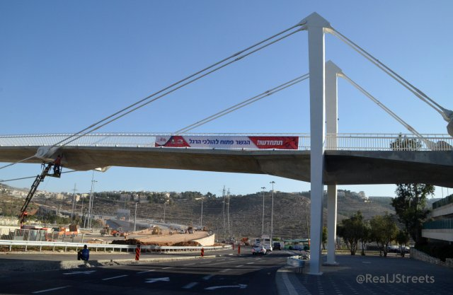 image Jerusalem new bridge at Malha Mall