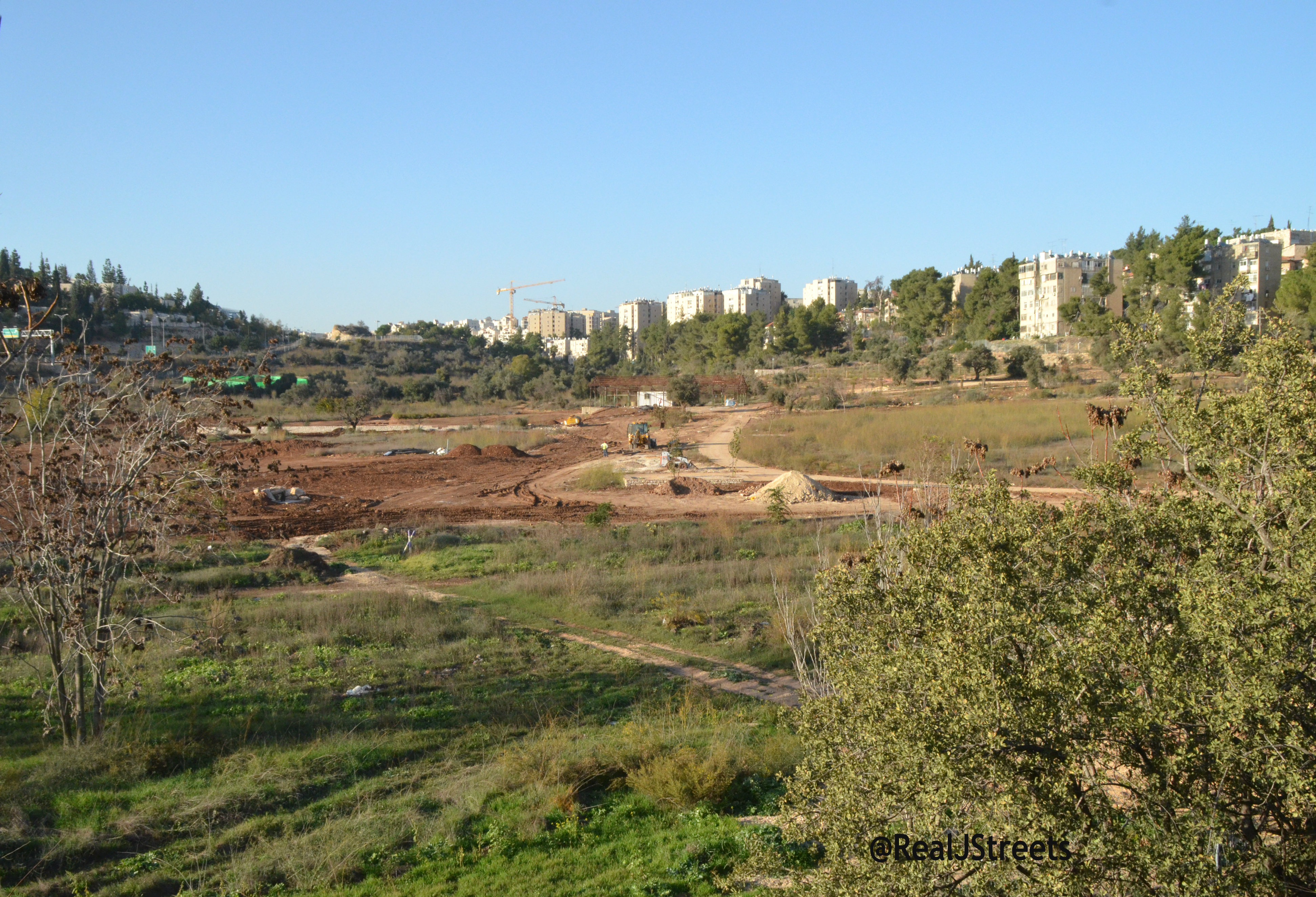 image new park in Jerusalem