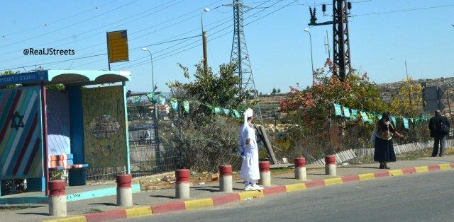 image Tzomat Hagush bus stop