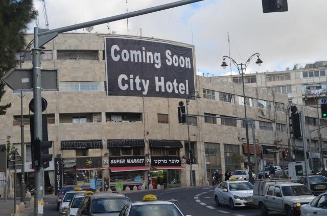 new hotel in Jerusalem