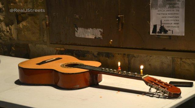 image chanukiah from guitar
