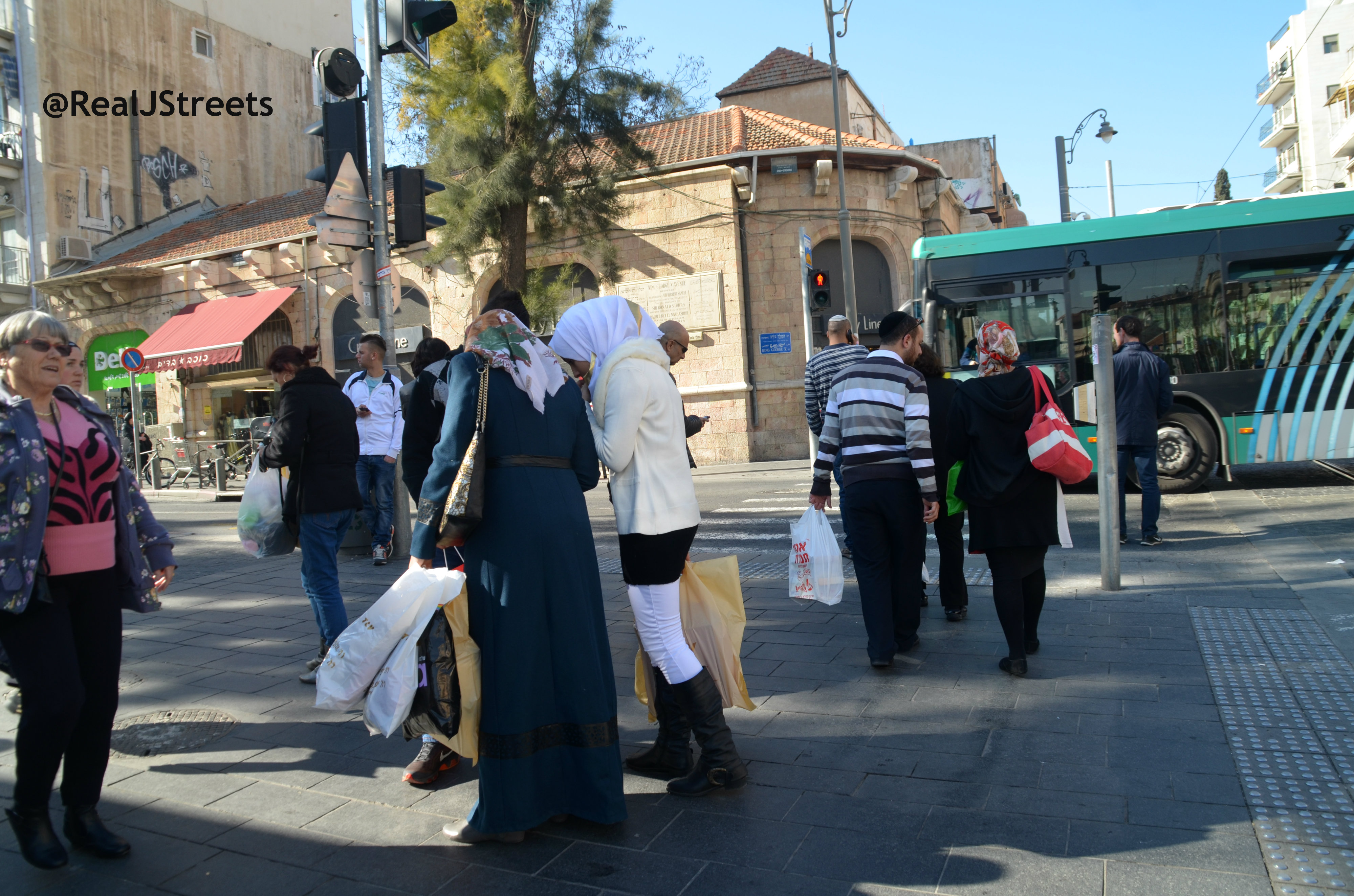image street scene Jerusalem