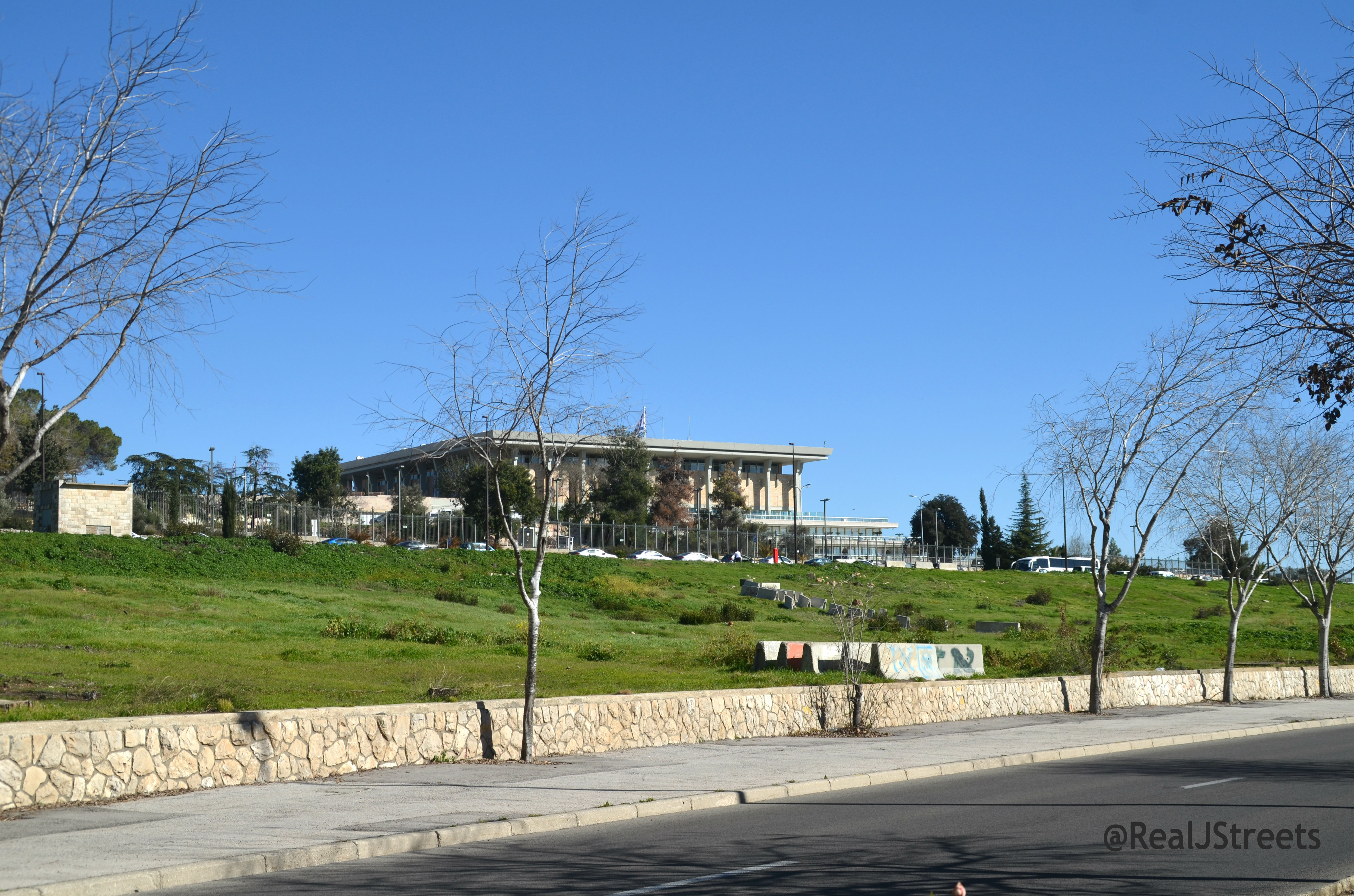 land where Israel National Library is to be built
