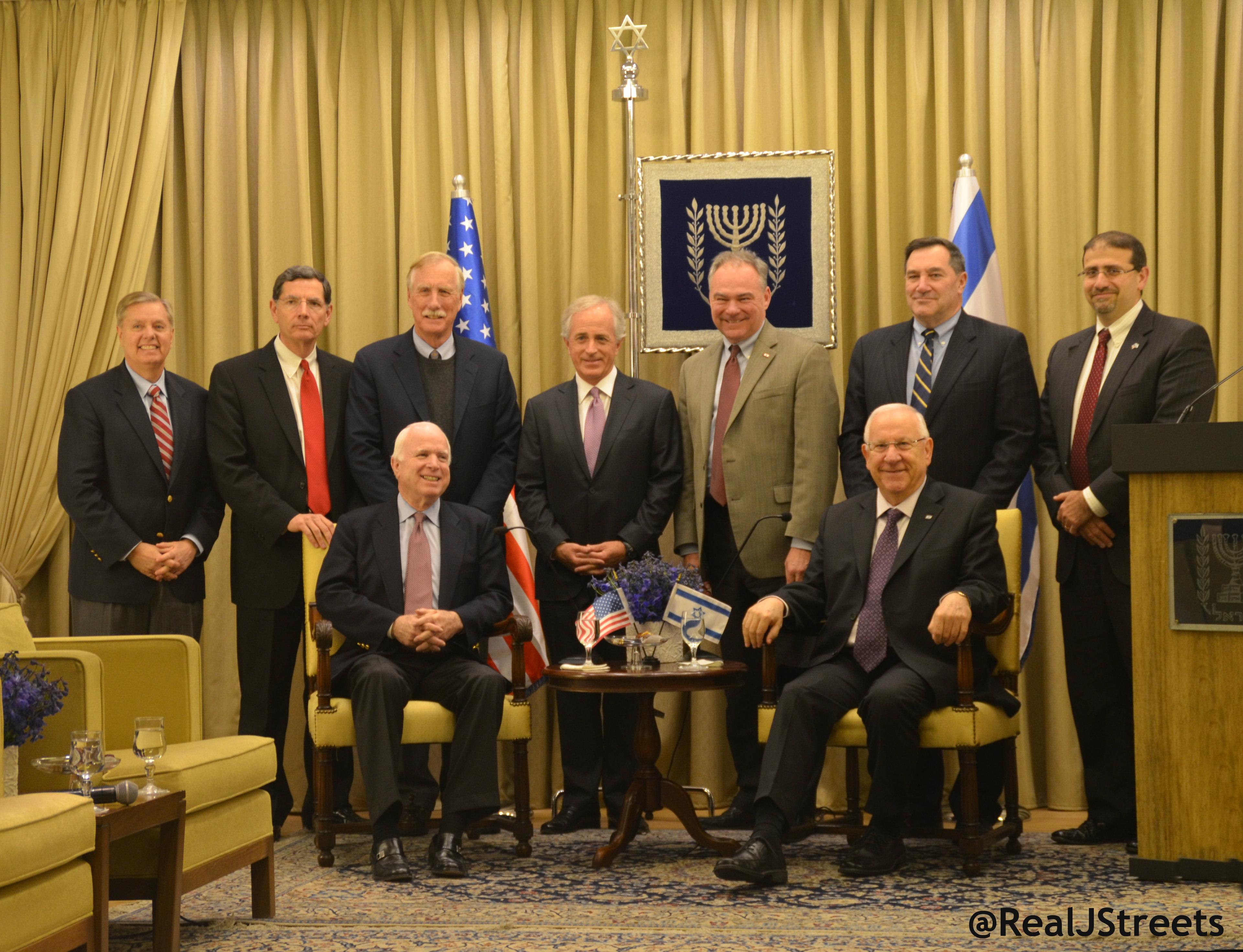 image US senators visit Jerusalem, israel