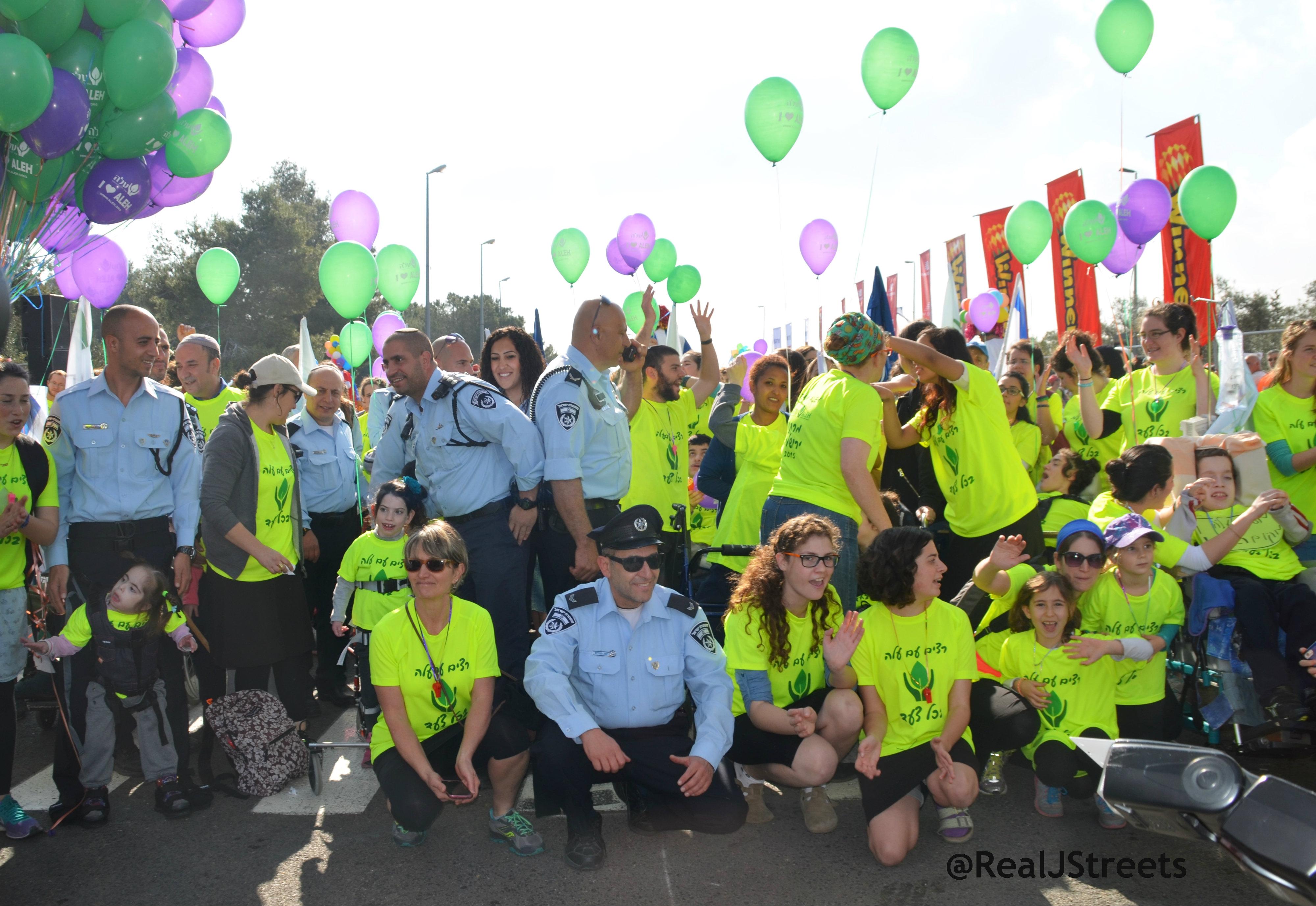 ALEH in Jerusalem marathon